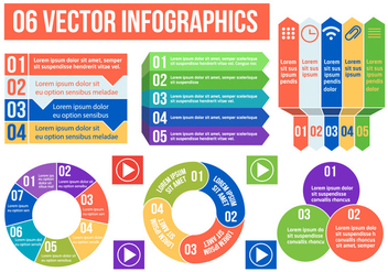 Free Vector Infographics Illustration - бесплатный vector #394289