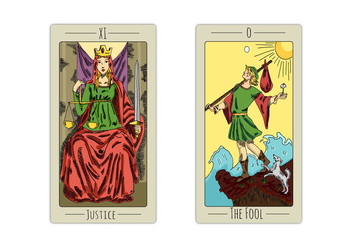 Free Tarot Playing Cards - vector #395439 gratis