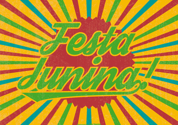 Festa Junina Illustration - Free vector #395639