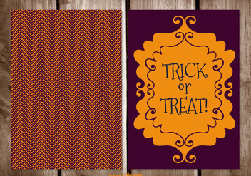 Halloween Card Illustration - vector gratuit #395709