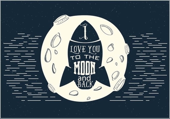 Free Love Rocket Vector - vector #395769 gratis