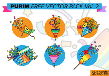 Purim Free Vector Pack Vol. 2 - бесплатный vector #395859