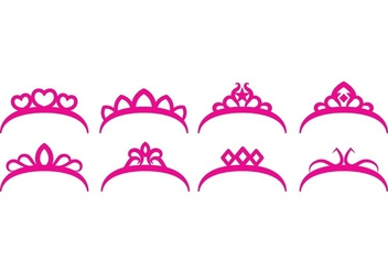 Free Crown Set - vector gratuit #395999
