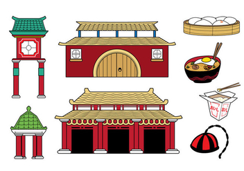 Free Country China Icons Collection - vector #396149 gratis