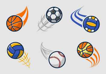 Kickball team logo pack - vector gratuit #396429