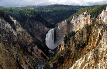 Artist Point. Yellowstone. NP - image #396539 gratis