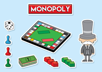 Free Monopoly Vector - Free vector #396849