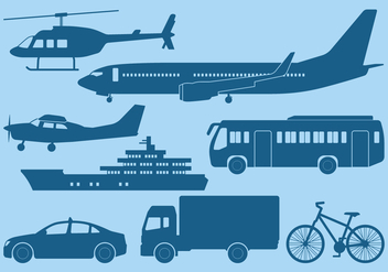 Transportation Icon - vector #396929 gratis