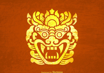 Free Vector Barong Background - vector #397159 gratis