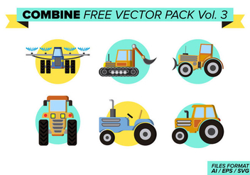 Combine Free Vector Pack Vol. 3 - vector #397659 gratis