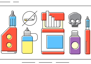 Free Drug Vector Icons - бесплатный vector #397689