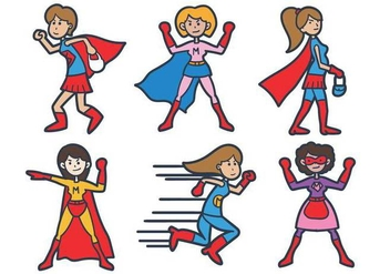 Super Mom Vector - vector gratuit #397709