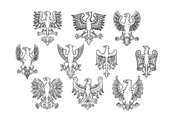 Free Polish Eagle Vector - Free vector #398079