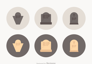 Free Tombstone Vector Icons - Free vector #398149