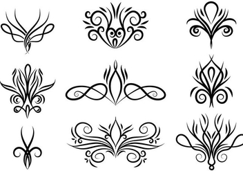 Free Vector Abstract Swirls - vector gratuit #398199