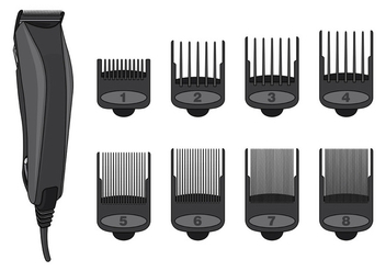 Vector Of Hair Clippers - Free vector #398539