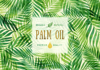 Free Palm Oil Vector Background - Free vector #398549