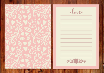 Cute Pink Wedding Planner - Free vector #398759