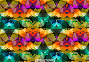 Abstract Polygonal Background - Free vector #398839