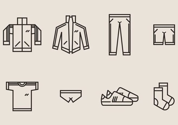 Tracksuit Icon - Free vector #398899