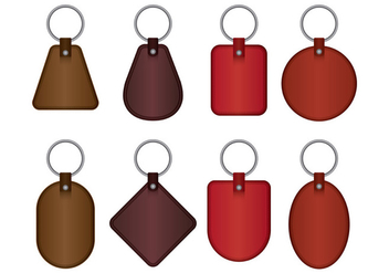 Key Holder Vector Icons - vector #398929 gratis
