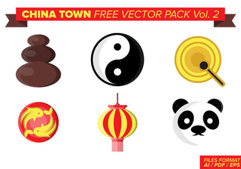 China Town Free Vector Pack Vol. 2 - бесплатный vector #398979