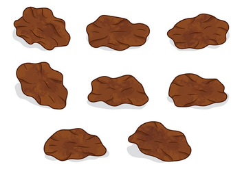 Set Of Raisins Vector - Free vector #399179