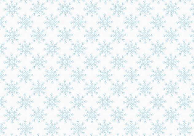 Free Vector Snowflakes Pattern - Free vector #399459