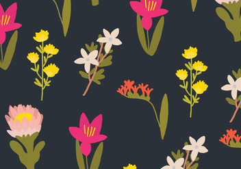 Floral Pattern - Kostenloses vector #399499