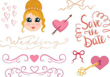 Free Wedding Vectors - vector gratuit #399529