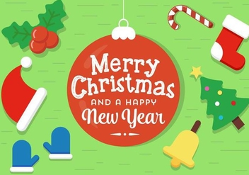 Free Vector Christmas Elements - vector #399779 gratis