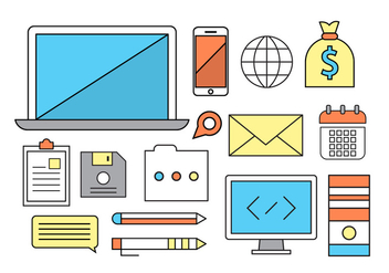 Free Business Icons - vector #399809 gratis