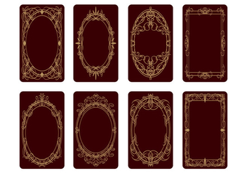 Free Tarot Card Back Design Vector - бесплатный vector #399899