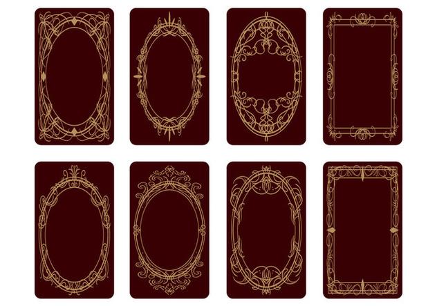 Free Tarot Card Back Design Vector Free Vector Download