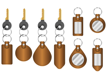 Free Realistic Key Holder Vectors - бесплатный vector #399969