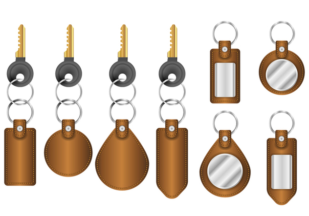 Free Realistic Key Holder Vectors - vector #399969 gratis