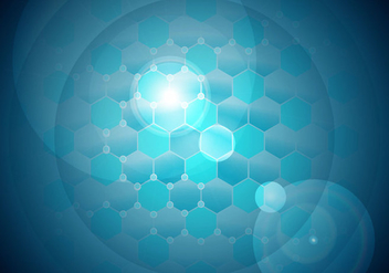 Nanotechnology Background Vector Free #2 - Free vector #399979