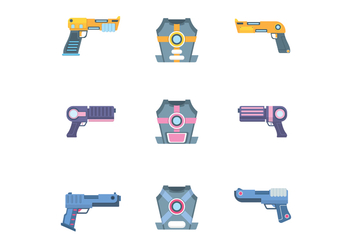 Free Laser Tag Vector - Free vector #400159