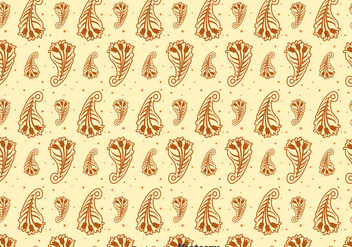 Brown Cashmere Seamless Pattern - Kostenloses vector #400289
