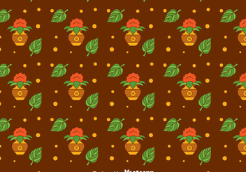 Kalash Festival Seamless Pattern - Free vector #400329
