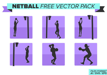 Netball Free Vector Pack - Kostenloses vector #400469