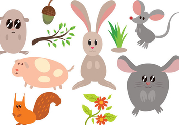 Free Critters Vectors - Free vector #400559