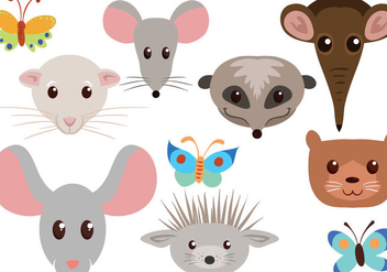Free Animals Vectors - бесплатный vector #400579