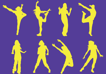 Free Zumba Icons Vector - Kostenloses vector #400659
