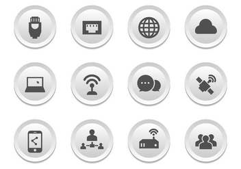 Free Connection Icons Vector - Free vector #400709