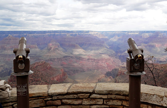 Grand Canyon view point. - image #401029 gratis