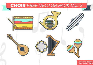 Choir Free Vector Pack Vol. 2 - vector #401209 gratis