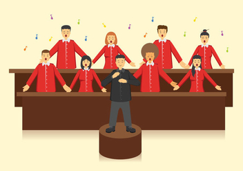 Free Choir Vector - Free vector #401249