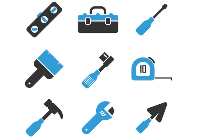 Tools Icon - vector gratuit #401289