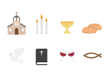 Free Communion Vector Icons - vector #401739 gratis